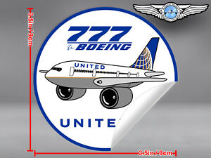 UNITED-AIRLINES-UAL-PUDGY-BOEING-B777-B-777-DECAL-STICKER