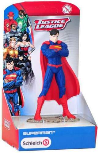 Schleich Justice League Superman collectible Figurine WARRANTY✓ AUTHENTIC✓
