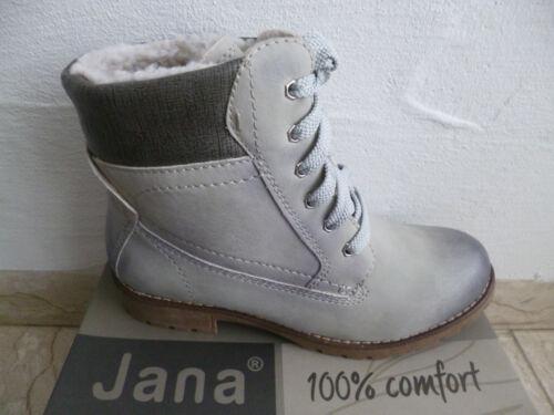Gris À D'hiver Lacets Jana Neuf Bottes wa8AZA