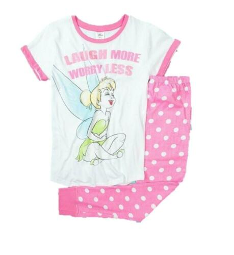Disney femme Tinkerbell Officiel Personnage Nouveauté Pyjamas Set