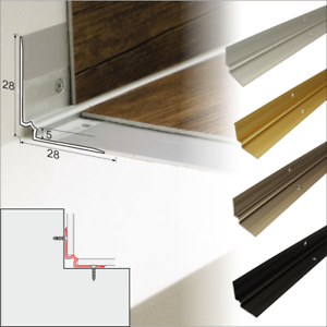 Luxury Click Vinyl Flooring Stair Nosing Edge Profile Trim