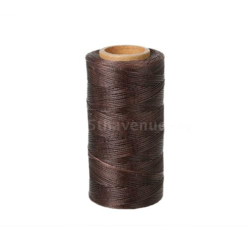 260m 150D 0.8mm Leather Sewing Hand Stitching Waxed Thread String Cord for N1P4