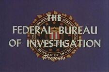 VINTAGE FBI TRAINING FILMS VOLUME 2 DVD 9 FILMS 2 HOURS