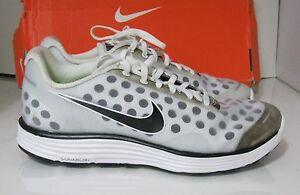 Nike Lunarswift+ 2(Silver-Black) Sneakers Shoes 443840-010 Size 8