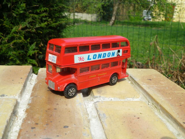 M.PERSAUD Ancien BUS ANGLAIS ROUTMASTER LONDON transport BIG BEN neuf sans boite