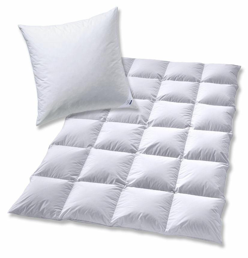Bettenset piumino coperta da letto piumone 135x200 + cuscino piumino 40x80 quattro stagioni