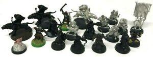 Warhammer-LOTR-Lord-of-the-Rings-Large-Metal-Hero-Models-Joblot-Bundle-x-19