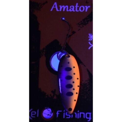 Forellenblinker UV Premium Kelo Amator Kinny UV Blinker Spinner Ultralight Jara
