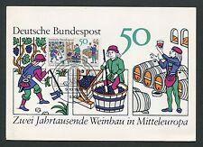 BUND MK 1980 WEINBAU WINE GRAPE WEIN VINE MAXIMUMKARTE MAXIMUM CARD MC CM d6293
