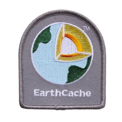 Earthcache™ Patch Aufnäher Geocaching Earth Cache Groundspeak