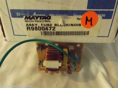 JENN AIR MAGIC CHEF MICROWAVE R9800472 Fuse Block/noise Filter NEW IN BOX