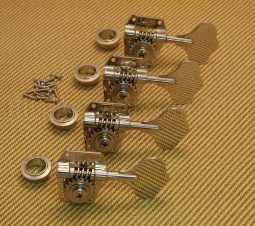 TK-0791-001 Set of 4 Schaller BM Nickel Bass Tuners EB//Music Man® and G/&L® model