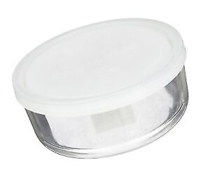 Bormioli Rocco Frigoverre Round Storage Container With Frosted Lid
