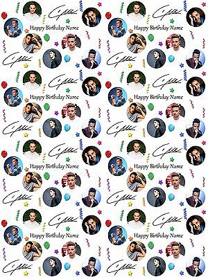 Liam Payne Personalised Birthday Wrapping Paper ADD NAME//S CHOOSE BACKGROUND