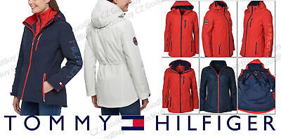 factory authentic popular stores new arrivals Women's Tommy Hilfiger 3-in-1 All Weather Systems Removable Hood Jacket  *NWT* | eBay