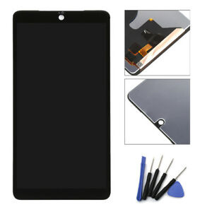 Color : Black Black LCD Screen Mobile Phone and Digitizer Full Assembly for Essential Phone PH-1