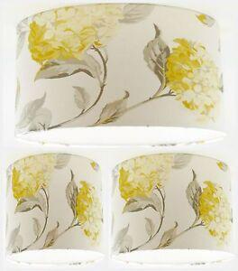 Lampshade Handmade with Laura Ashley Draycott Camomile Stripe Wallpaper FREE P/&P