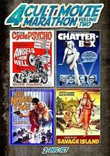 4 Cult Movie Marathon, Vol. 2 (DVD, 2013, 2-Disc Set)