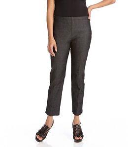 nero Capri fessura L71050 laterale Pantalone denim Kane in 89 elasticizzato Msrp Karen con gwxftR