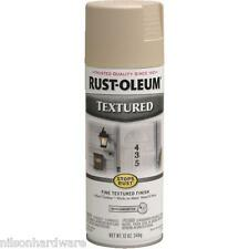 3 Pk 12 Oz Sandstone RustOleum Stops Rust Textured Finish Spray Paint 7223-830