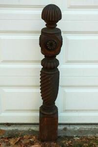 Antique Vintage Victorian Ornate Carved