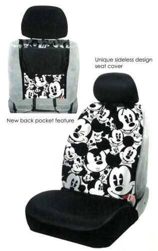 FOR HONDA NEW MICKEY MOUSE 14PC CAR SEAT COVERS FLOOR MATS AND ACCESSORIES SET
