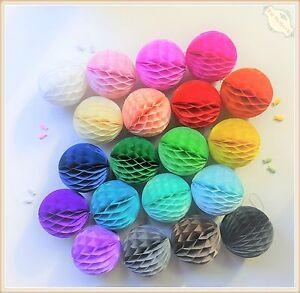 Honeycomb-Balls-Tissue-Paper-Pom-Poms-Wedding-Party-Lantern-Home-Decor-AU-Stock