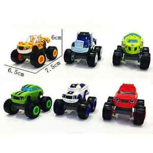 Blaze-and-the-Monster-Machines-PVC-Toy-Racer-Cars-Kids-Gift-New-toy