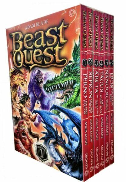 beast quest series 1 collection adam blade 6 books set 1