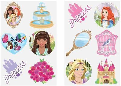 10 X GIRLS UNICORN  TemporaryTattoo Birthday Party Bag fillers UK Seller