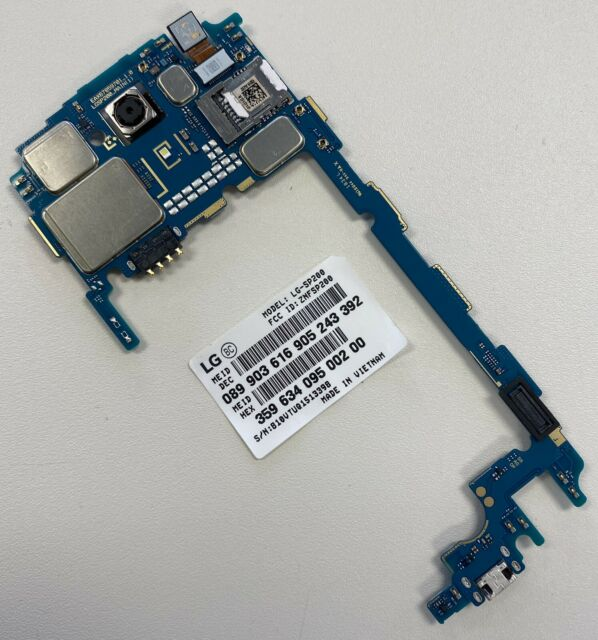 Clean LG Tribute Dynasty SP200 Boost Mobile Motherboard Logic Board Sim Card