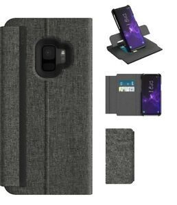 sports shoes a5dad da828 Details about Galaxy S9 For Incipio Carnaby |Folio Esquire Secure Wallet  Fold Cover Case