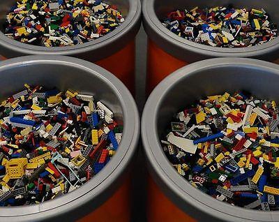 2 Pounds LBS of LEGO HUGE BULK LOT bricks blocks CITY TOWN STAR WARS NINJAGO