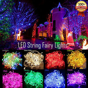 100-200-300-500-LED-Fairy-Lights-Indoor-Outdoor-String-Lighting-Xmas-Christmas
