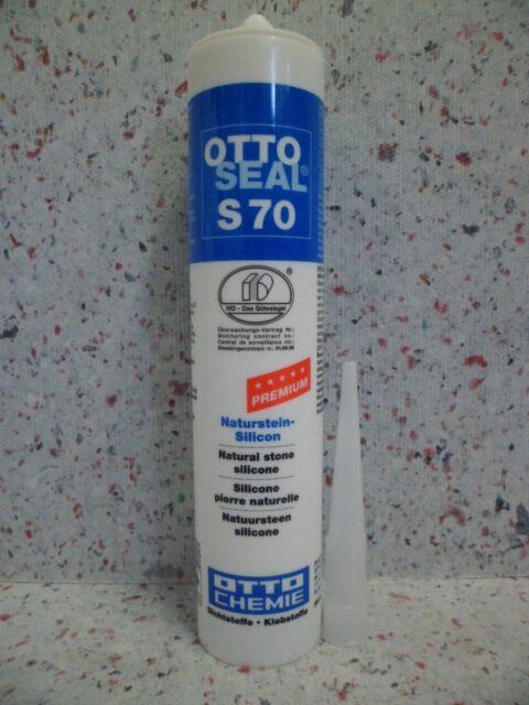 Ottoseal S70 310 ML Anthracite Silicone Silicone en Marbre Granit