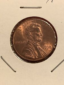 1998 Wide AM Lincoln Penny (error) | eBay