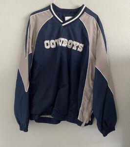 XL-Vtg-90s-NFL-Dallas-Cowboys-Lined-Pullover-Windbreaker-XLARGE