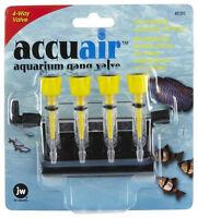 Jw Pet Accuair Gang Valve 4 Way Air Aquarium Free Shipping To The Usa