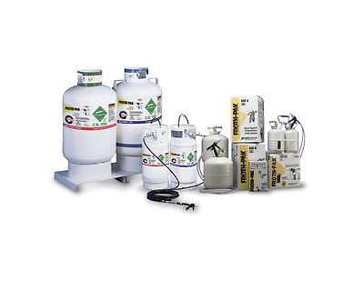 Do It Yourself 60 Gallon Spray Foam Insulation Kit Sprayfoam DIY 6000 BFT