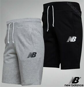 Mens-New-Balance-Print-Logo-Brushed-Back-Jersey-Shorts-Sizes-from-S-to-XXL