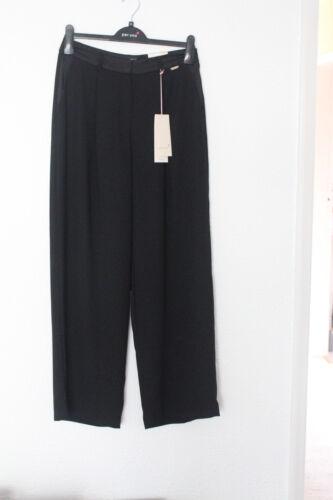 M/&S Per Una Sizes 10S 12S 14S 12R 14L Black Roma Wide Leg Trousers Bnwt £39.50