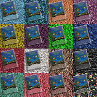 25 Lbs Aquarium Gravel, Pebbles, Fish Rocks - Select From 16 Different Colors