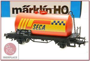 H0-1-87-ho-trenes-maqueta-Marklin-4561-vagon-mercancias-SECA-Antwerpen-AC