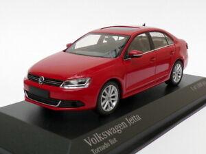 Minichamps-Escala-1-43-de-400-059001-a-2010-Volkswagen-Jetta-Rojo