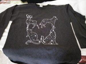 573fdad8d5b Geek Gear Exclusive Harry Potter T-Shirt Large Magical Creature Long ...