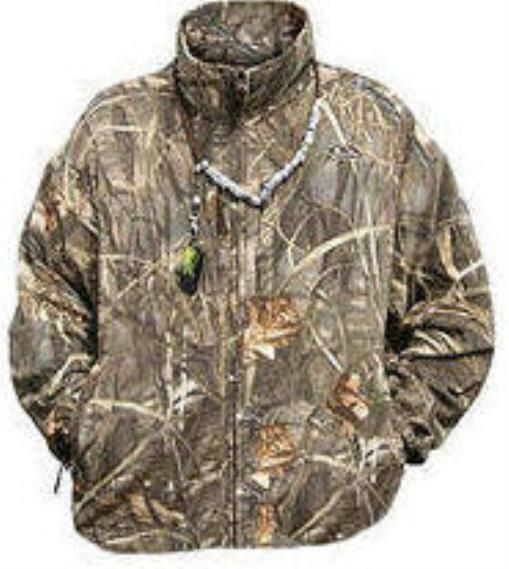 Drake Waterfowl 215 MAX4 Camo Fleece Coat Small 17553