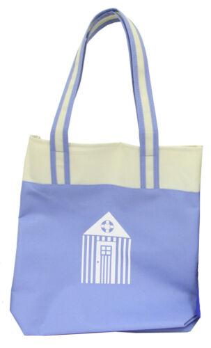 2 Colours Shoulder Bag Beach Hut Design Carrier Shopping