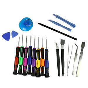 19 in 1 repair tools screwdrivers set for iphone 6 plus 6 5 5s 4s phone htc kit. Black Bedroom Furniture Sets. Home Design Ideas
