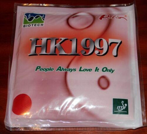Palio HK1997 BIOTECH 36-38° Pips-In Table Tennis Rubber//Sponge Loop-Drive Aussie