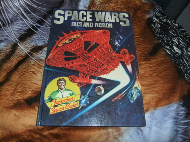 SPACE WARS FACT & FICTION Featuring SPACE CADET OCTOPUS 1980 1ST H/C VGC